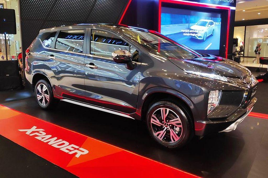 Mitsubishi Xpander facelift trình làng tại Indonesia